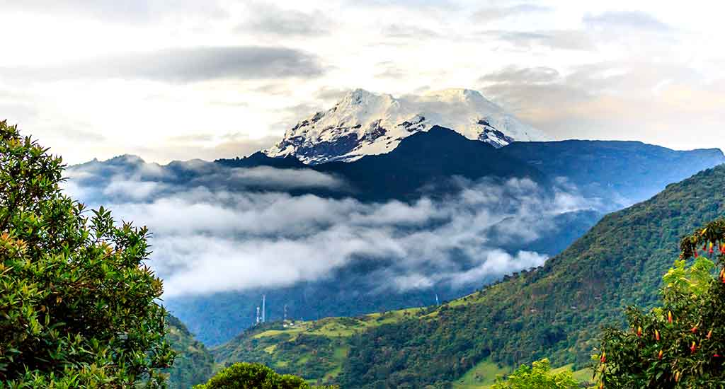 due to its location near the equator, arguably is the farthest point from the earths center. Overnight in: Riobamba